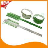 Divertissement en vinyle 10 bracelets en plastique de l'onglet ID de bandes de bracelet (E6070-10-21)