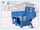 リサイクルのプラスチックシュレッダーか単一シャフトのシュレッダーセリウム(WT4080)が付いている機械の