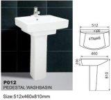 Lavabo con pedestal P012