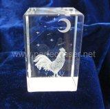 セリウムの標準3D写真結晶レーザーの彫版機械価格