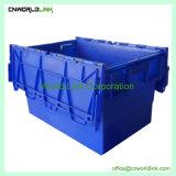 contenitore all'ingrosso di plastica del solido di trasporto del coperchio allegato 70L