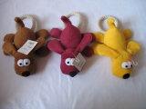 Het Stuk speelgoed van de Hond van Squeaker van het Stuk speelgoed van het Huisdier van de Hond van het Stuk speelgoed van de kabel