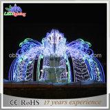 Illuminazione di natale dell'Asia, indicatori luminosi sommergibili del LED, indicatori luminosi della fontana LED