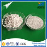 Sfera attivata bianca dell'allumina per essiccamento