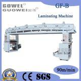 Lamineur sec de papier d'aluminium de méthode de vitesse moyenne (GF-B)