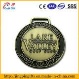 Médaille faite sur commande en métal pour des sports d'école