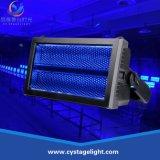 新しい極度の明るいWhite+RGB DMX原子3000のLEDの段階ライトストロボライト