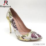 Женщин Золотой вертикально кожаные Embtoider производителей одежды обувь
