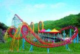China Zhongshan Jinbo Tipo Gran Anillo de seis de la emoción de fantásticas atracciones personalizadas Roller Coaster con luz LED