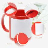 Les tasses en céramique vierge pour sublimation Custom Café tasses Magic de promotion de changement de couleur Les prix de gros