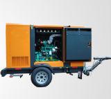 100kVA/80kw mobiele Diesel van het Type van Aanhangwagen Generator met Automatische Overdracht