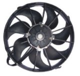 Universalität 12 Inch 80W Curved Auto Cooling Fan/Condenser Fan