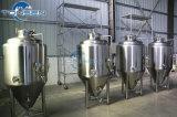 Constructeurs de cuves de fermentation de brasserie d'acier inoxydable à vendre