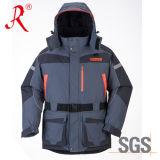 방수 겨울에 의하여 누비질되는 바다 낚시 재킷 (QF-9049A)