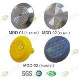 316 스테인리스 또는 PVC 촉감 장식 못 표시기 포장