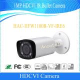 Dahua 1MP Hdcvi IRの弾丸の機密保護CCTVのカメラ(HAC-HFW1100R-VF-IRE6)