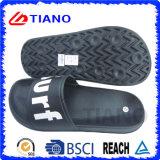 Nueva moda EVA y zapatilla de cuero para hombres (TNK35646)