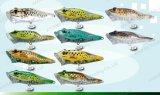 Richiamo superiore di pesca del grado--Rana rivestita UV Popper (HW002)