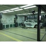 Estaciones modelo de la preparación de Europa para la pintura del coche