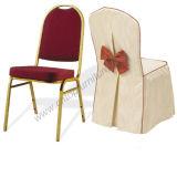 Cadeiras modernas do banquete do casamento do hotel com tampa da cadeira para o partido