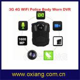 De Camera van het Lichaam van Eqipment van de Politie van WiFi 4G met Batterij 3200mAh en de Visie van de Nacht