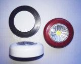 3AAAによって動力を与えられる壁に取り付けられた穂軸LED押しライトLEDの戸棚ライト