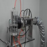 Salle de test de performance de climatisation psychrométrique avec unité de bobine de ventilateur