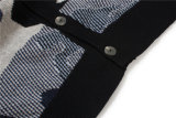 100%Cotton V Neck Knitting Men Cardigan mit Button