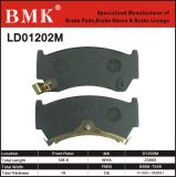 환경 친절한 브레이크 패드 (D1202M)