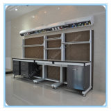 C ZijBank van het Laboratorium van het Staal van het Frame de Houten