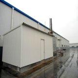 주문을 받아서 만들어진 Prefabricated 창고 강철 구조물 건물