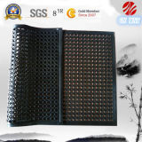 Anti Slipway Drainage Rubber Floor Chechmate/Anti Fatigue Rubber Kitchen Flooring/Oil Resistance Hotel Rubber Matting, Ship Deck Rubber Basts