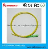 2M Sc/APC Pigtail fibra óptica de 2,0 mm