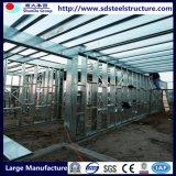 Конструкция здания выставочного зала стальной структуры ферменной конструкции высокого качества