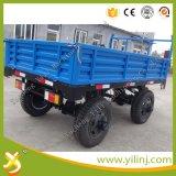 De Aanhangwagen van het landbouwbedrijf, de Aanhangwagen van de Kipper van de Tractor Vijf Ton
