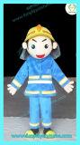 Hi fr71 pompier Costume mascotte