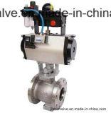 Пневматическая регулировка шарового клапана из нержавеющей стали/Hb2810-16c