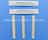 Dépresseur de languette à bois en bouleau à usage unique médical / Dépresseur de langue en bois