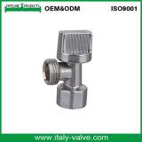 Soupape de cornière plaquée par laiton de qualité d'ODM d'OEM& avec le traitement d'ABS (AV3019)