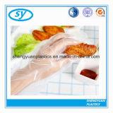 Qualität PET transparente Wegwerfplastikhandschuhe