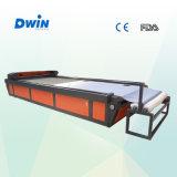 Cortadora de cuero de alimentación auto del laser del gran escala (DW1626)