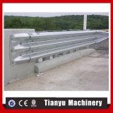 Rolo de comércio da instalação do painel do Guardrail da estrada da garantia que dá forma à máquina
