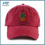 Kundenspezifische Hysteresen-Hut-Baseballmütze mit Ihrem Firmenzeichen