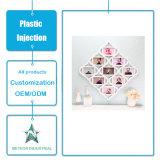 Kundenspezifische Plastikprodukt-dekorative Foto-Abbildung-Plastikrahmen-Einspritzung