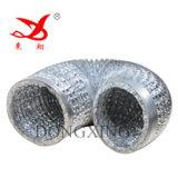 Alta qualità Aluminium Polyester Film Used a Flexible Duct (AL 7 mic/PET 15 mic/AL 7 mic)