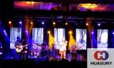 Vorhang LED-Bildschirmanzeige für Kreis, Kurven-Form für Liveshow