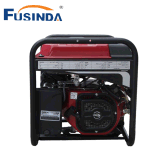 Gerando gerador portátil pequeno ajustado da gasolina da potência com começo chave