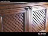 Projeto 2017 moderno de venda da cozinha da madeira contínua de Welbom o melhor