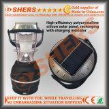 Solar-LED-Licht mit Warnleuchte, ankurbelnder Dynamo, USB (SH-1992B)