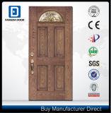 Fangda 4のパネルの別荘の入口のガラス繊維のドア